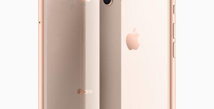 iPhone 8 Plus ja iPhone 8 ovat takaa lasipintaisia.