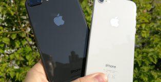 iPhone 8 Plus ja iPhone 8 ovat tuttuja iPhone, nyt lasikuorella varustettuna.
