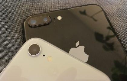 iPhone 8:n ja iPhone 8 Plussan takakamerat.