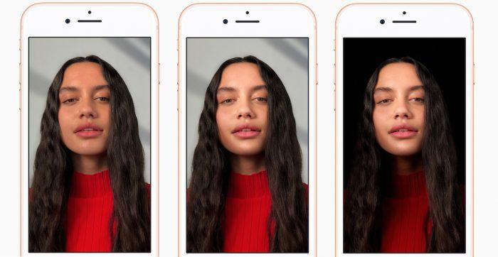 Uusi Muotokuvavalo-ominaisuus mahdollistaa erilaiset valaistukset kuvauskohteelle.