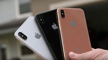iPhone X:lle odotettiin myös uutta kuparinkultaista Blush Gold -väriä.