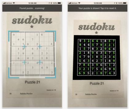 Magic Sudoku ratkaisee sudokut nopeasti.