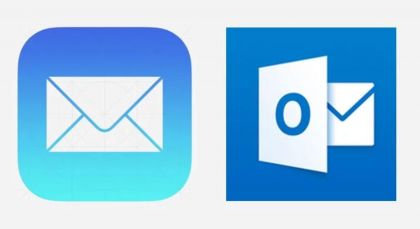 Mail vs. Outlook.