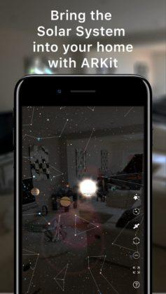 Night Sky sai myös ARKit-toimintoja.