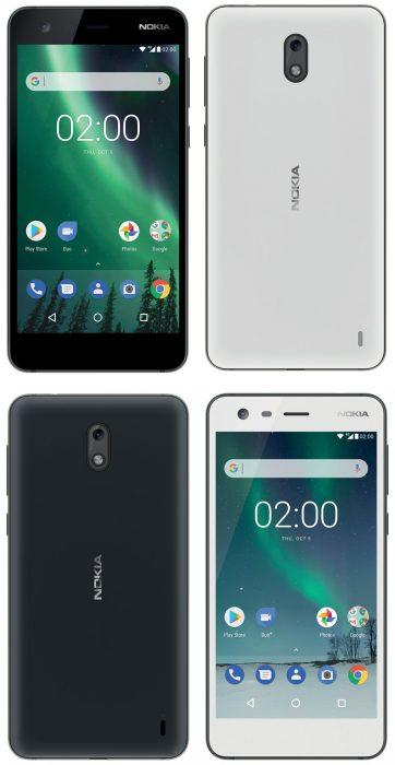 Nokia 2. Evan Blassin aiemmin vuotamat lehdistökuvat.