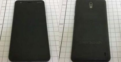 Nokia 2 FCC:n kuvissa.