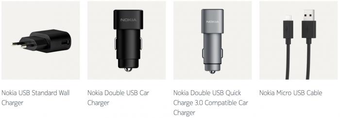 Latureita Nokia-puhelimille.