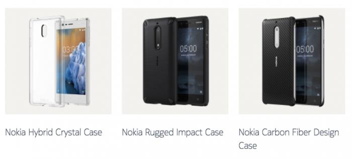Suojakuoria Nokia-puhelimille.