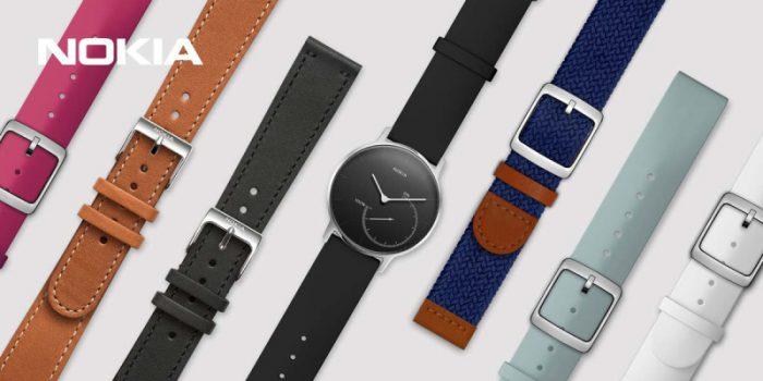 Nokia on esitellyt uusia rannekevaihtoehtoja Steel-kellolleen.