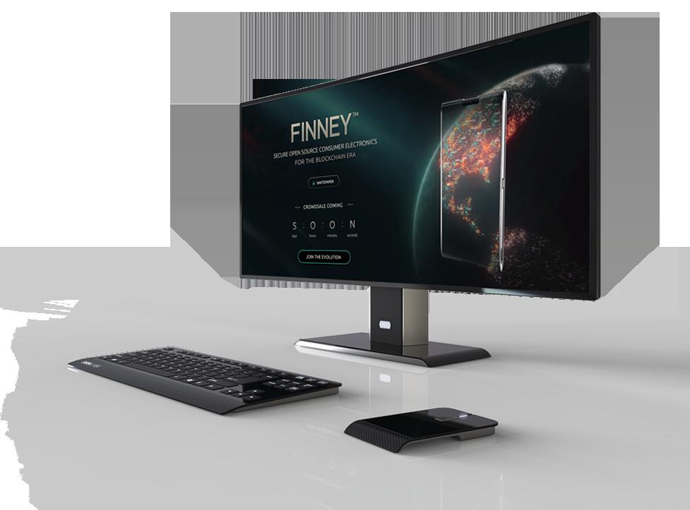 Sirin Labsin Finney-all-in-one-tietokone.
