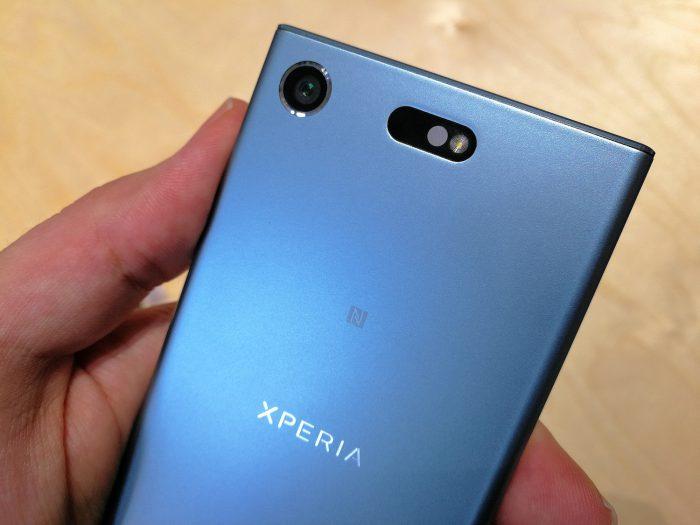 Xperia XZ1 Compactista löytyy sama kamera kuin suuremmasta mallista.