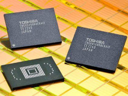 Toshiban tytäryhtiö on ollut yksi merkittävimmistä muistipiirivalmistajista.