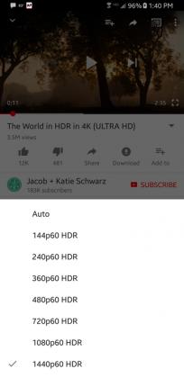 YouTube tarjoaa älypuhelimissa nyt HDR-sisältöä.