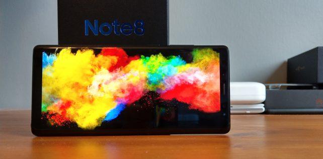 Arvostelussa Samsung Galaxy Note8 – paras Android-puhelin, jonka rahalla saa