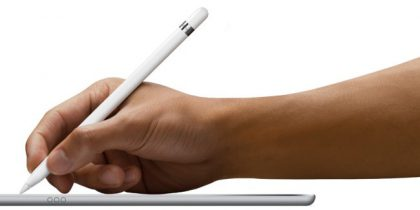 Nykyinen Apple Pencil iPad-laitteille.