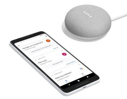 Pixel 2 XL -puhelin ja pienikokoinen Google Home Mini -älykaiutin ovat osa Googlen kasvavaa laitebisnestä.