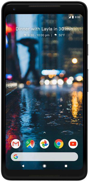 Google Pixel 2 XL. Evan Blassin julkaisema kuva.