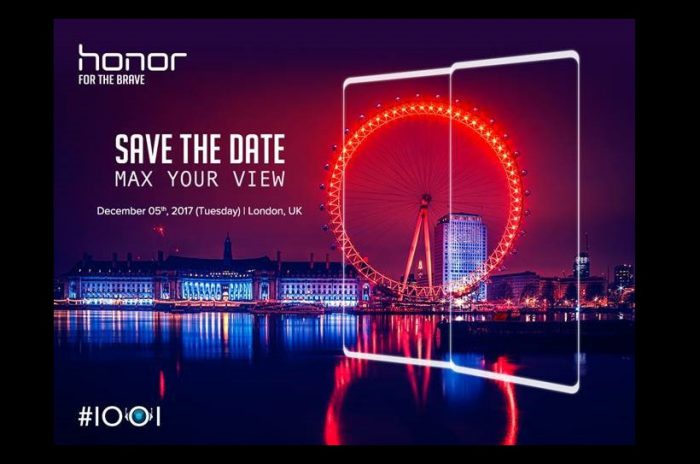 Honor 7X saatetaan julkistaa Euroopassa 5. joulukuuta Lontoossa.