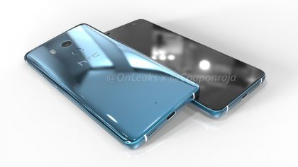HTC U11 Plus OnLeaksin mallikuvissa.