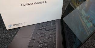 MateBook X on Huawein ensimmäinen varsinainen kannettava tietokone.