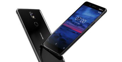 Nokia 7:ssä yhdistyy alumiinirunkoon lasiin niin edessä kuin myös takana.