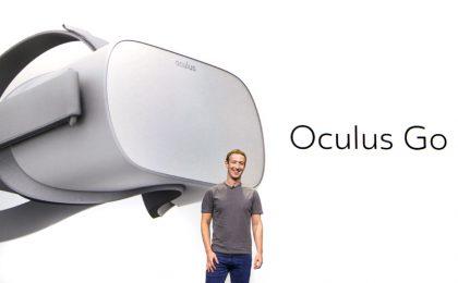 Facebookin perustaja Mark Zuckerberg esitteli Oculus Gon eilen.