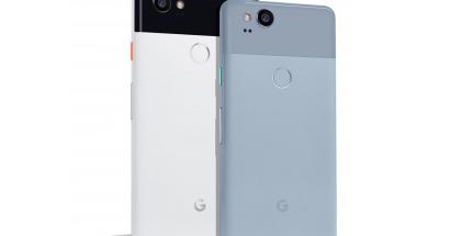 Nykyiset Google Pixel 2 XL ja Pixel 2.