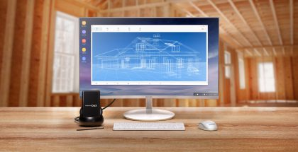 Galaxy on Linux toimii myös kuvassa esitellyn Samsung DeXin kanssa.