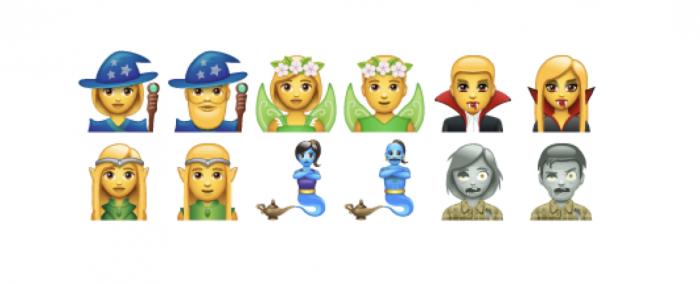 Uusia fantasia-aiheisia emojeja jo mukana WhatsAppin omissa emojeissa.