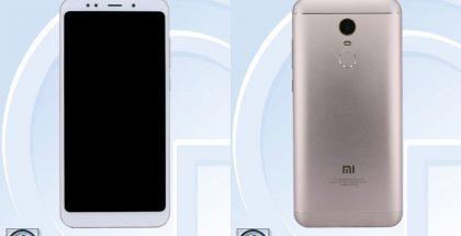 Xiaomi Redmi Note 5. Kiinalaisviranomaisen TENAAn julkaisemat kuvat.