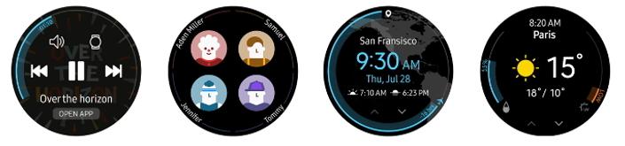Gear S3:n käyttöliittymä saa muutoksia päivityksessä.