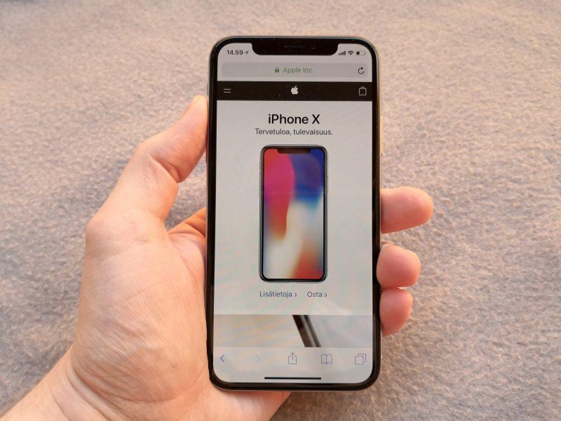 iPhone X tuo monia perustavaa laatua olevia muutoksia iPhoneen.