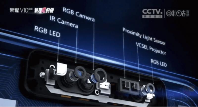 Honorin esittelemä infrapunakamerajärjestelmä koostuu useista sensoreista.
