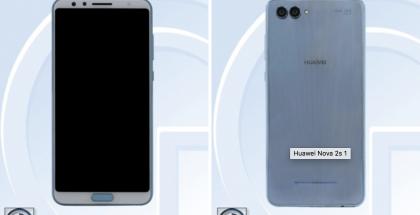 Uusi Huawei Nova -puhelin TENAAn kuvissa.