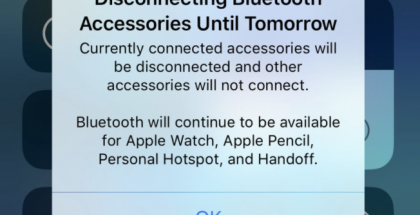 iOS 11.2:n kolmas beeta lisäsi tietoja Wi-Fi- ja Bluetooth-pikavalintojen toiminnasta.