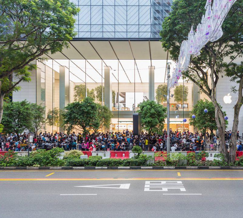 Apple Store Singaporessa.