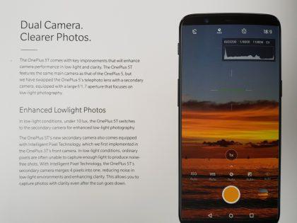 OnePlus 5T:n merkittävin uudistus on etupuolen laajemmin kattava 18:9-kuvasuhteen näyttö.