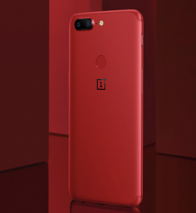 OnePlus 5T:n punainen värivaihtoehto on toistaiseksi esitelty vain Kiinassa.