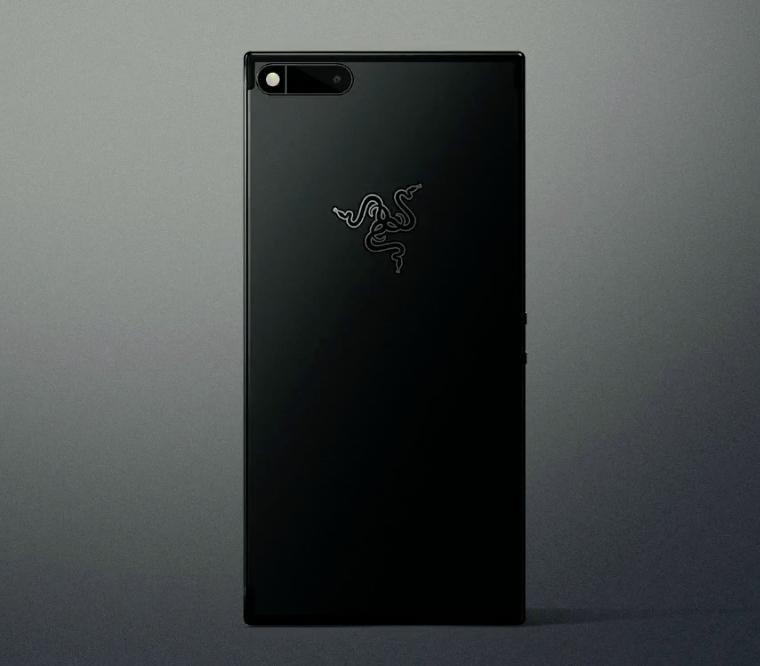 Alkuperäinen Razer Phone takaa.