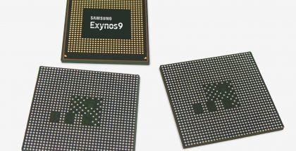 Samsungin nykyinen Exynos 9810 -järjestelmäpiiri.