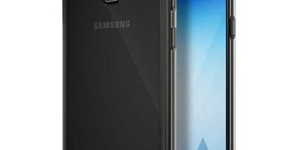 Samsung Galaxy A5 (2018) suojakuoren sisällä.