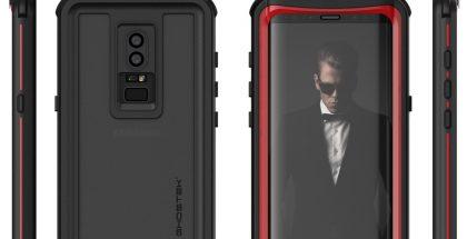 Väitetty Samsung Galaxy S9, BRG-sivuston julkaisema suojakuorivalmistaja Ghostekin kuva.