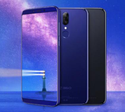 360 N6 Pro on rakenteeltaan alumiinia. Puhelimen takapinta on kuitenkin pinnoitettu lähes lasimaisen kiiltäväksi.