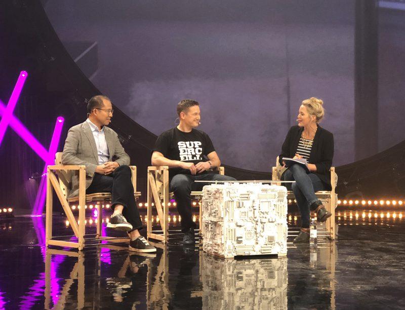 Tencentin Martin Lau ja Supercellin Ilkka Paananen esiintyivät ensimmäisen kerran julkisesti yhdessä Slushissa.