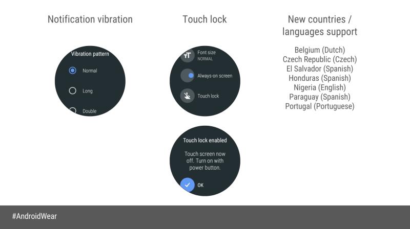 Android Wearin uudistuksia sen Oreo-päivityksessä.