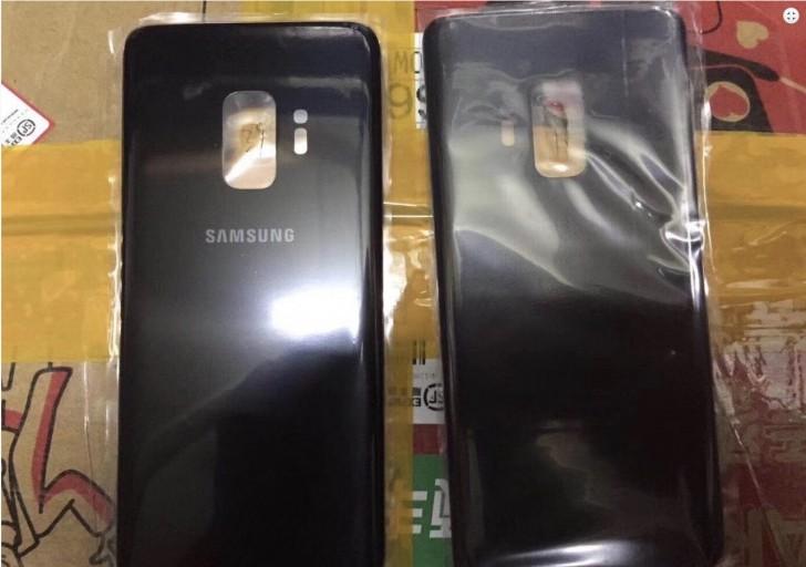 Galaxy S9:n takapaneeli.