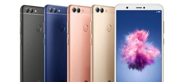 Huawei Enjoy 7S tulee neljänä eri värivaihtoehtona.