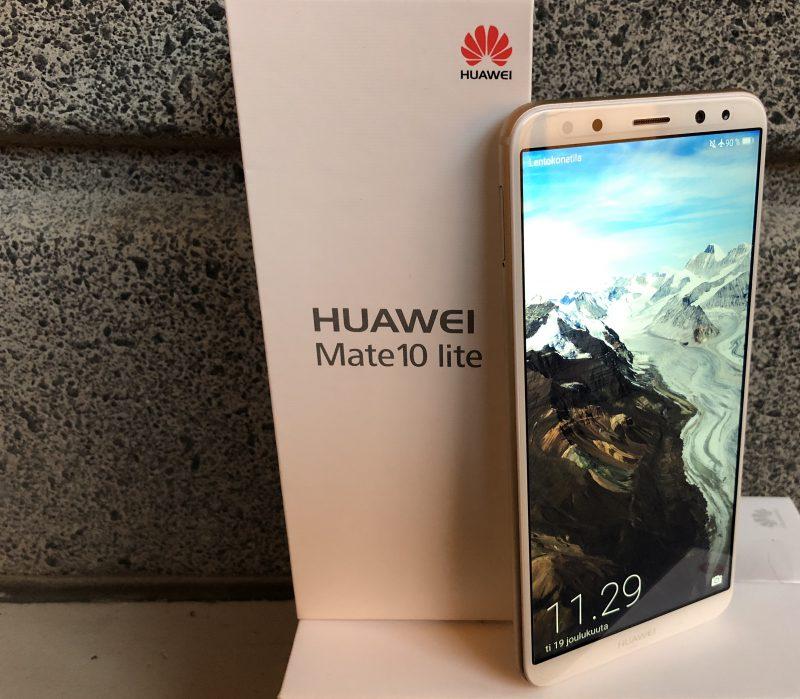 Huawei Mate 10 Lite tuo 18:9-näytön alle 400 euron hintaluokkaan.