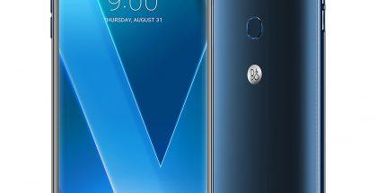 LG V30 marokon sinisenä.