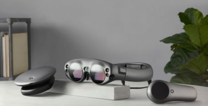 Magic Leap One AR -laitekokonaisuus.